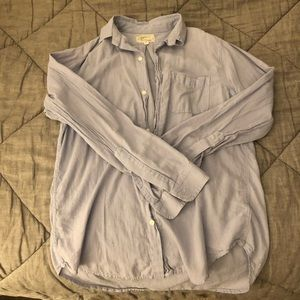 Current Elliot cotton button down shirt size 1